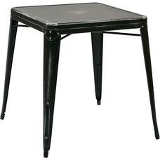 OSP Designs Bristow Antique Metal Table - Antique Black