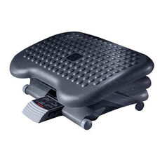 Rubbermaid Commercial Products Height-Adjustable Tilting Footrest - 14