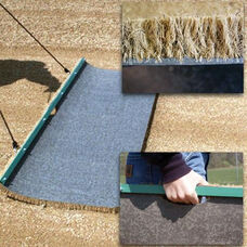 Natural Cocoa Fiber Drag Mat with Handle