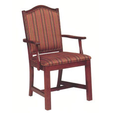 8618 Arm Chair w/ Upholstered Back & Seat - Grade 1