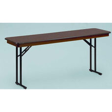 NLW Series Lightweight Comfort Leg Seminar Plastic Folding Table - 18