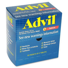 Acme United Corporation Advil Pain Reliever Single Packets
