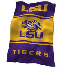 Louisiana State University Team Logo Ultra Soft Blanket