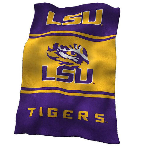 Our Louisiana State University Team Logo Ultra Soft Blanket is on sale now.