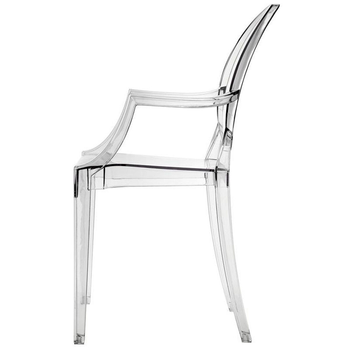 Our Casper Dining Armchair In Clear Is On Now