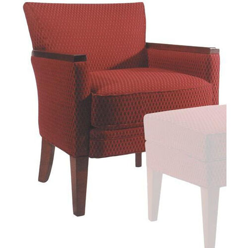 Our 9625 Upholstered Lounge Chair w/ Wood Arm Caps - Grade 1 is on sale now.