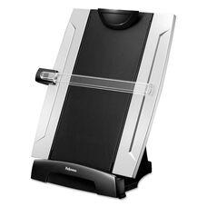Fellowes® Office Suites Desktop Copyholder - Plastic - 150 Sheet Capacity - Black/Silver