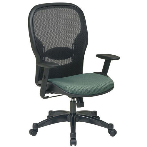 Space 2387 Professional Managers Chair with Air Grid Back and Fabric Seat