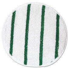 Rubbermaid® Commercial Low Profile Scrub-Strip Carpet Bonnet - White/Green