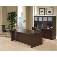 Fairplex Executive Desk and Storage Suite - Mocha