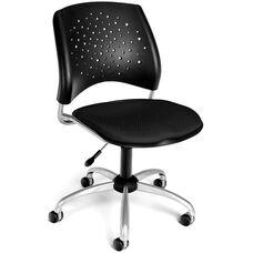 Stars Swivel Chair - Black