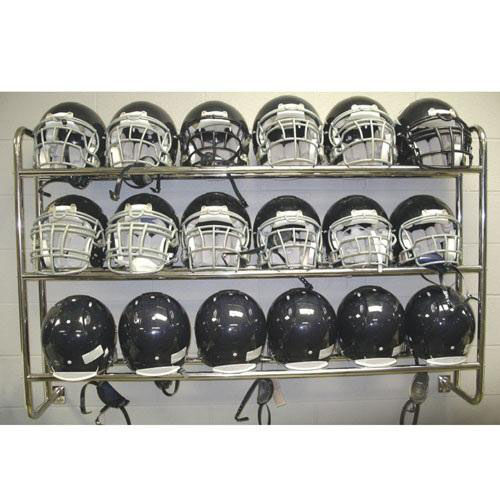 Our Wall Mounted Chrome Plated Steel Frame Helmet Rack is on sale now.