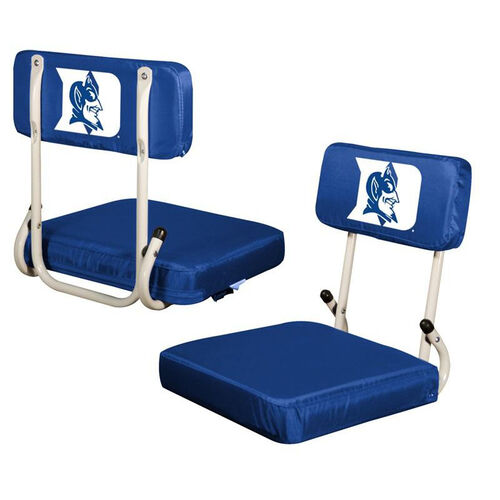 Our Duke University Team Logo Hard Back Stadium Seat is on sale now.