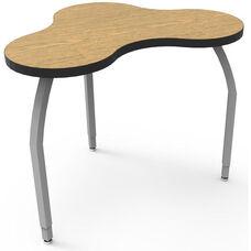 ELO Mini Nimbus High Pressure Laminate Desk with Adjustable Legs and 1.25