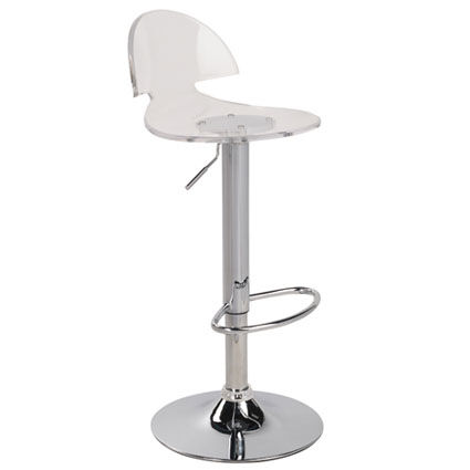 ... Our Venti Contemporary Height Adjustable Swivel Barstool With Acrylic  Seat   Clear Is On Sale Now ...