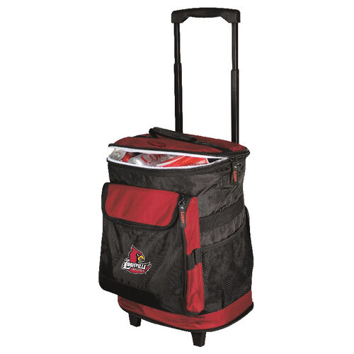 Our University of Louisville Team Logo Rolling Cooler is on sale now.