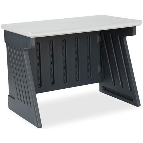 Our SnapEase Computer Desk - Charcoal and Silver is on sale now.