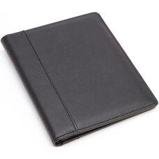 Prescription Pad Holder - Genuine Leather - Black