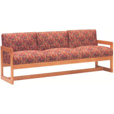 5951 Sofa with Wood Frame, Upholstered Spring Back & Seat - Grade 1