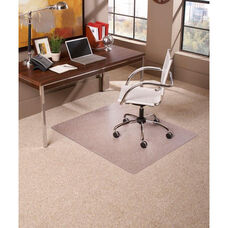 EverLife 60'' Square Medium Pile Anchorbar Chairmat