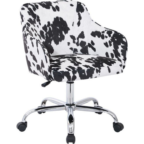 Our Ave Six Bristol Fabric Task Chair - Udder Madness Domino is on sale now.