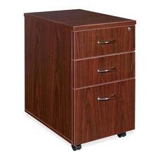 Lorell Pedestal -Box /Box /File -16''W x 22''L x 28 -1/4''H -Mahogany