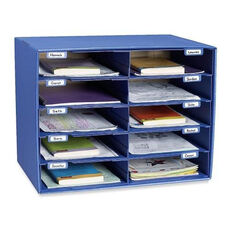 Pacon Mail Box - 10 Slots - 12 -1/2