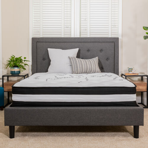 Our Capri Comfortable Sleep 12 Inch Foam and Pocket Spring Mattress, Mattress in a Box is on sale now.