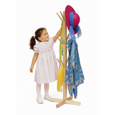 Maple Dress Up Tree with 12 Strong Clothing Storage Pegs