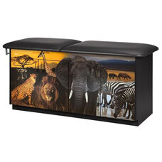 Safari Treatment Table - Adjustable Backrest