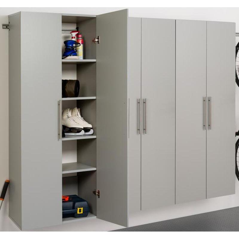... Our HangUps 90u0027u0027 Storage Cabinet Set D   3 Piece Storage Cabinets    Gray ...