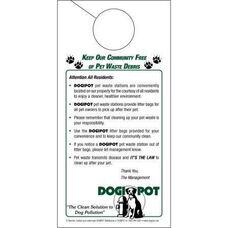 Informational Door Hanger - 50 Pack