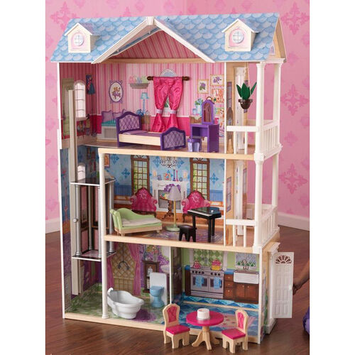 Our My Dreamy Classic and Colorful Dollhouse for 12