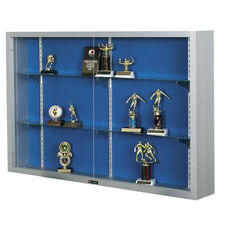 Imperial Series Aluminum Frame Display Case with Three 4