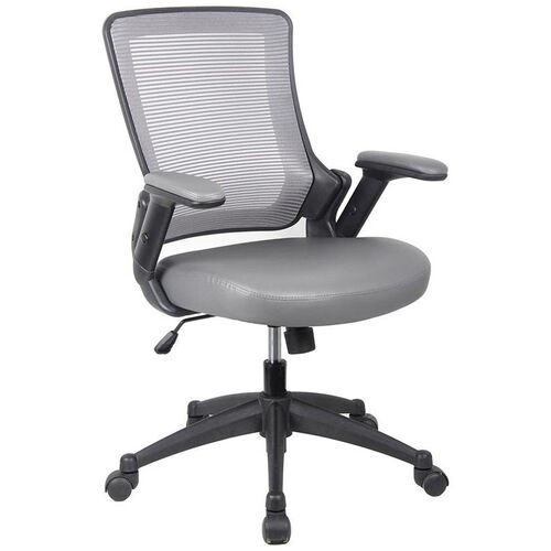 Our Techni Mobili Mid-Back Mesh Task Office Chair with Height Adjustable Arms - Gray is on sale now.