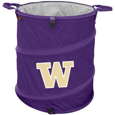 University of Washington Team Logo Collapsible 3-in-1 Cooler Hamper Wastebasket