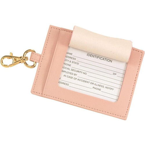 Our Luxury Big Luggage Tag - Top Grain Nappa Leather - Carnation Pink is on sale now.