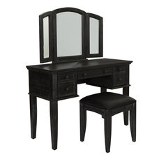 Inspired By Bassett Farmhouse Basics Vanity with Mirror and Bench