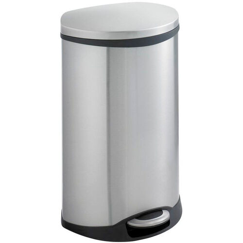 Our Ellipse 12.5 Gallon Step On Trash Receptacle - Stainless Steal is on sale now.