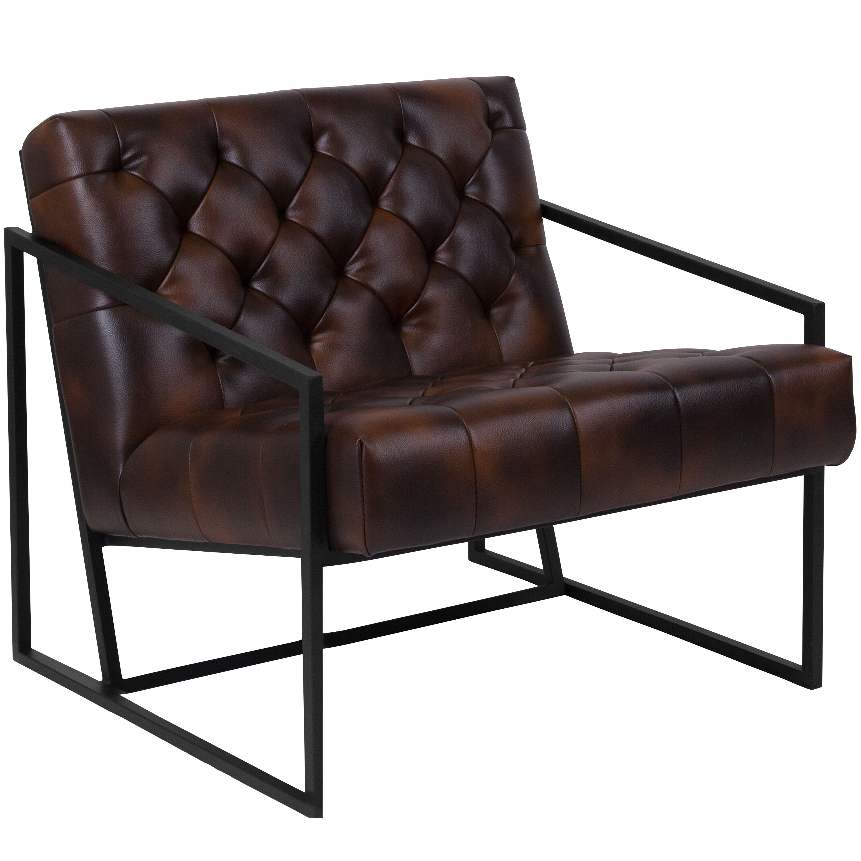 ... Our HERCULES Madison Series Bomber Jacket Leather Tufted Lounge Chair  Is On Sale Now.