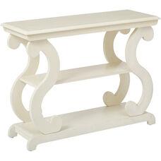 OSP Designs Ashland Console Table - Antique Beige