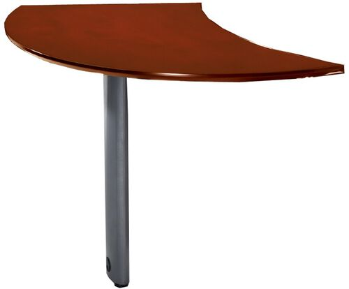 Our Napoli Curved Right Hand Desk Extension - Sierra Cherry on Cherry Veneer is on sale now.