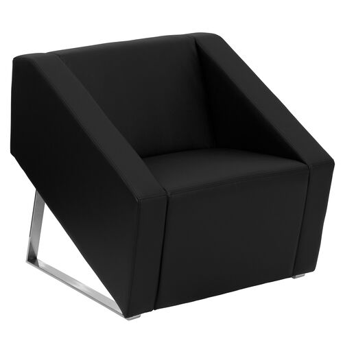 Our HERCULES Smart Series Leather Lounge Chair with Triangular Shaped Base is on sale now.