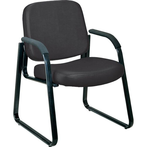 Our Anti-Microbial and Anti-Bacterial Vinyl Guest and Reception Chair with Arms - Black is on sale now.