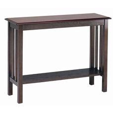 2340 Sofa Table with Shelf