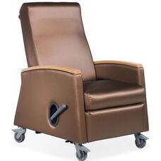 Odeon Mobile Medical Recliner - Vinyl Upholstery