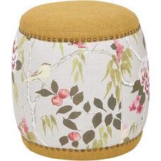 Ave Six Briana Barrel Stool - Nugget Fabric