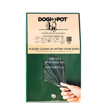 Green Aluminum Junior Bag Dispenser - Header Pak