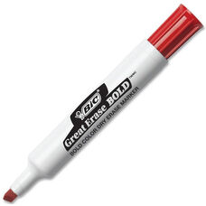 BIC Great Erase Red Dry Erase Marker - Box of 12