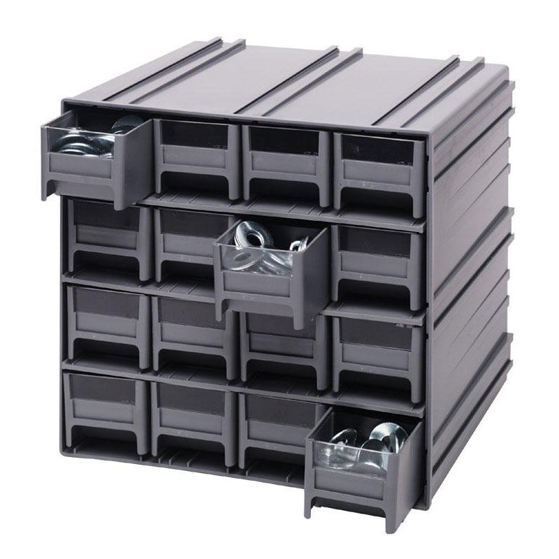 ... Our Interlocking Storage Cabinet with 16 Drawers - Gray is on sale now.  sc 1 st  Bizchair.com & Interlock Drawer Storage Cabinet QIC-161-GY | Bizchair.com